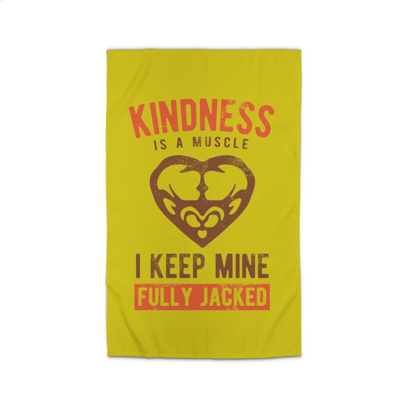 Payback Penguin - Kindness (yellow) Home Rug by Payback Penguin