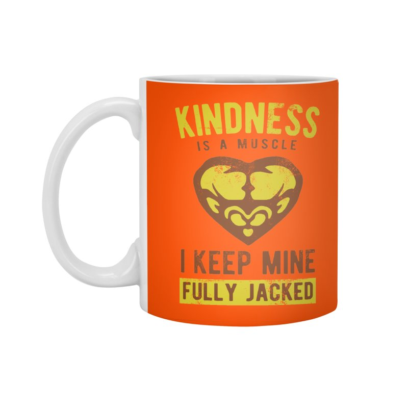 Payback Penguin - Kindness (Orange) Accessories Standard Mug by Payback Penguin