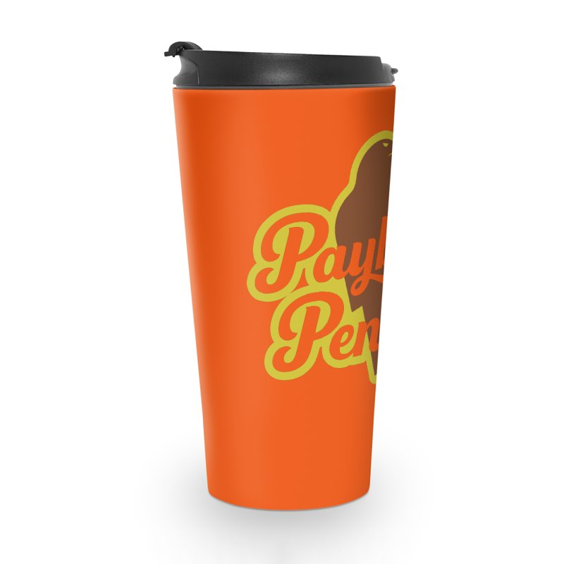 Bolt Penguin - Orange Accessories Mug by Payback Penguin