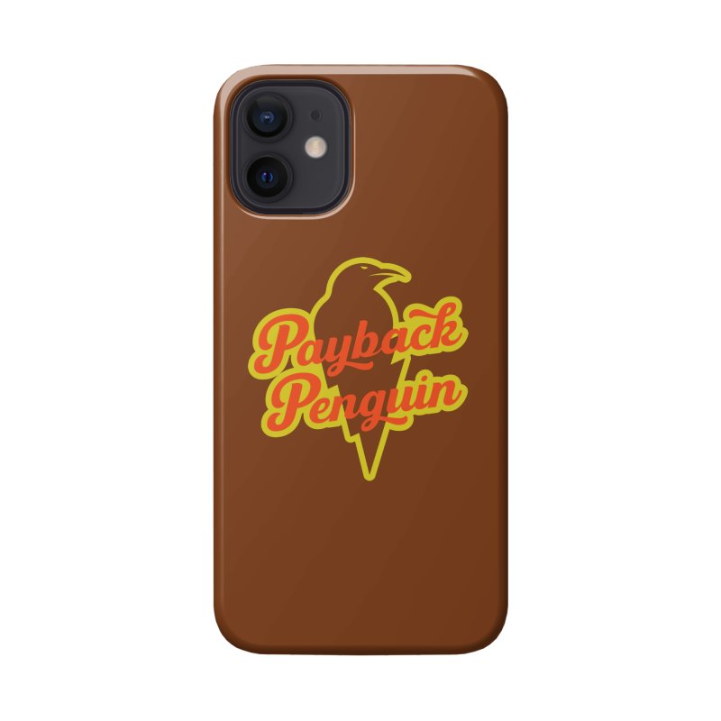Bolt Penguin - Brown Accessories Phone Case by Payback Penguin