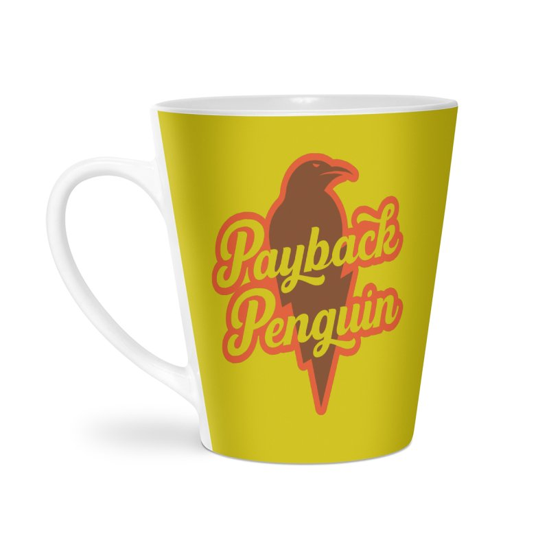 Bolt Penguin - Yellow Accessories Mug by Payback Penguin