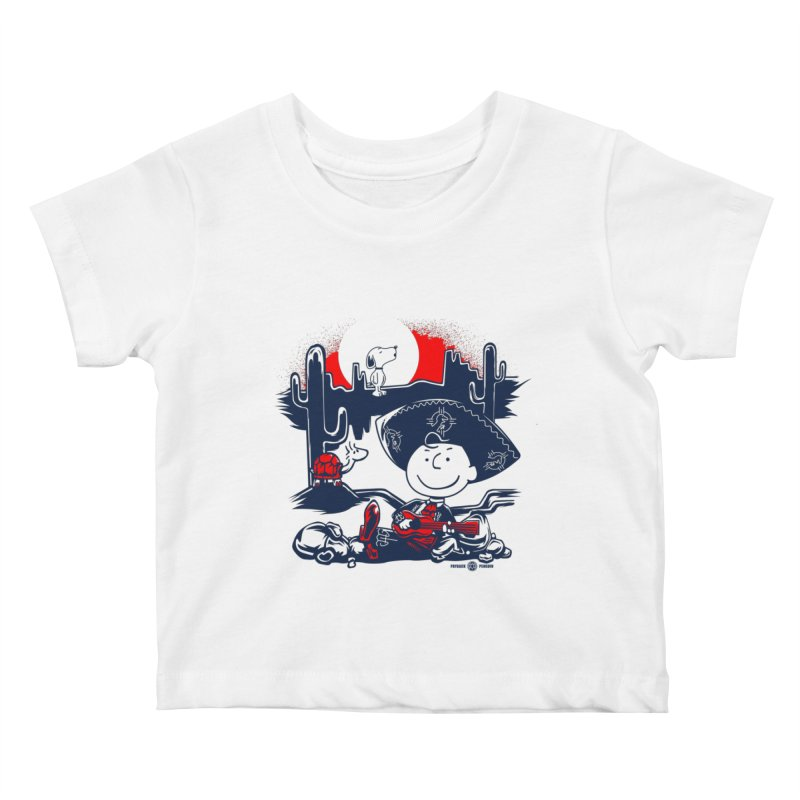 Charlie Bottoms Kids Baby T-Shirt by Payback Penguin