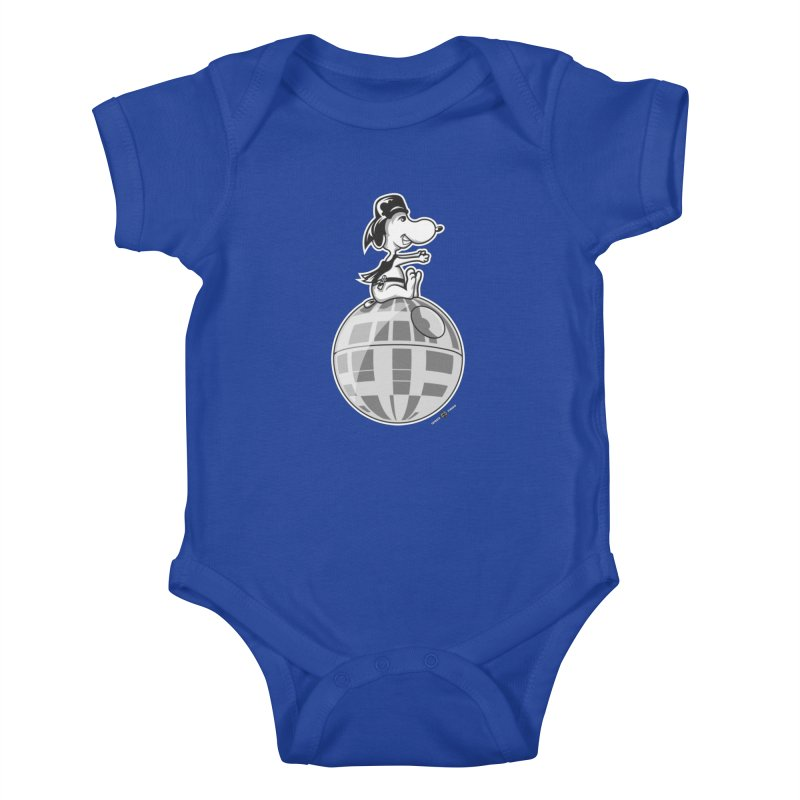 Snoopy Vader Kids Baby Bodysuit by Payback Penguin