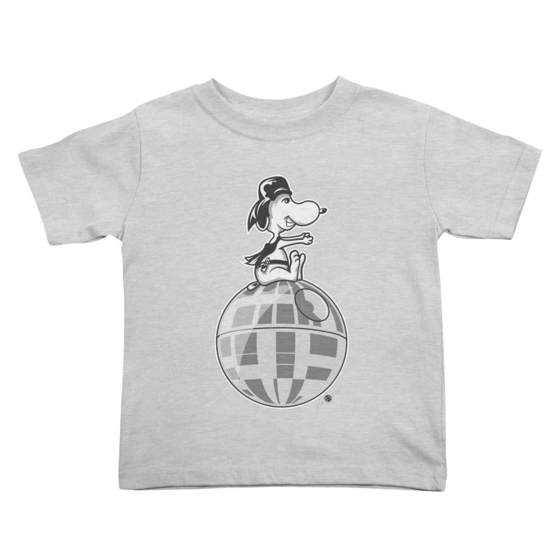 Snoopy Vader Kids Toddler T-Shirt by Payback Penguin