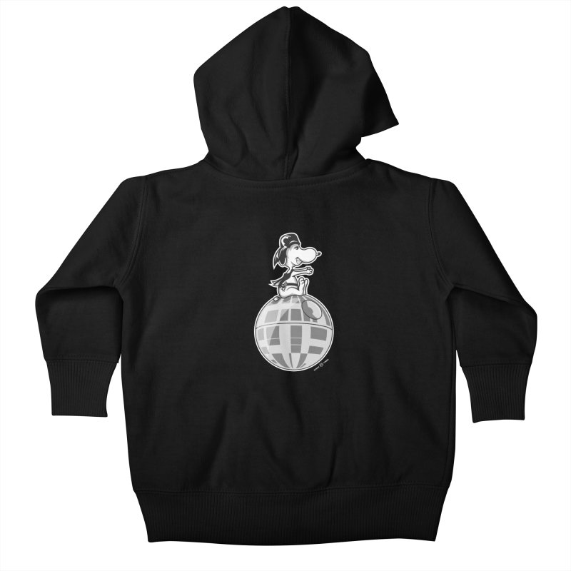 Snoopy Vader Kids Baby Zip-Up Hoody by Payback Penguin