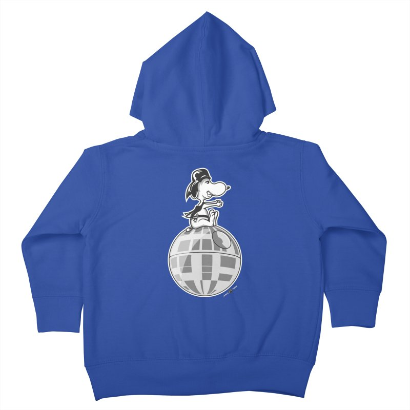Snoopy Vader Kids Toddler Zip-Up Hoody by Payback Penguin