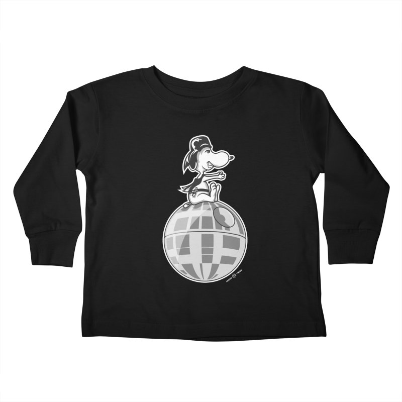 Snoopy Vader Kids Toddler Longsleeve T-Shirt by Payback Penguin
