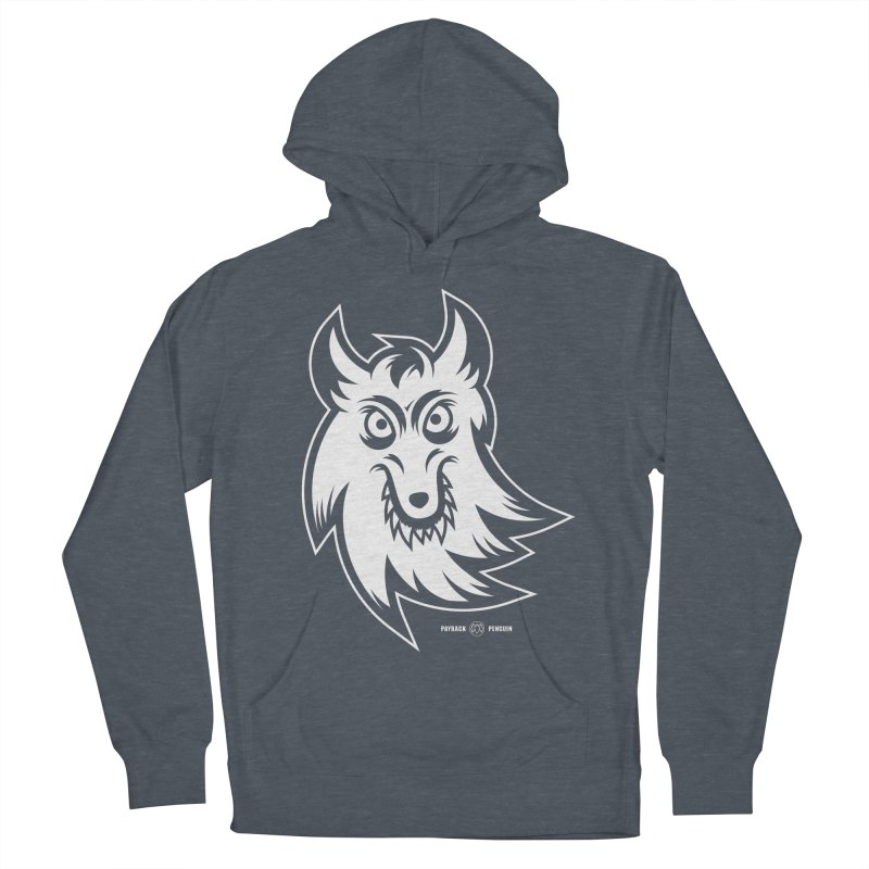 Lone Wolf Women's Pullover Hoody by Payback Penguin