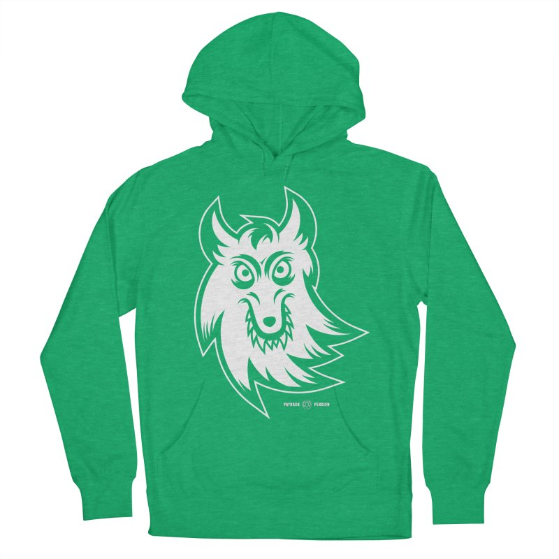 Lone Wolf Men's Pullover Hoody by Payback Penguin
