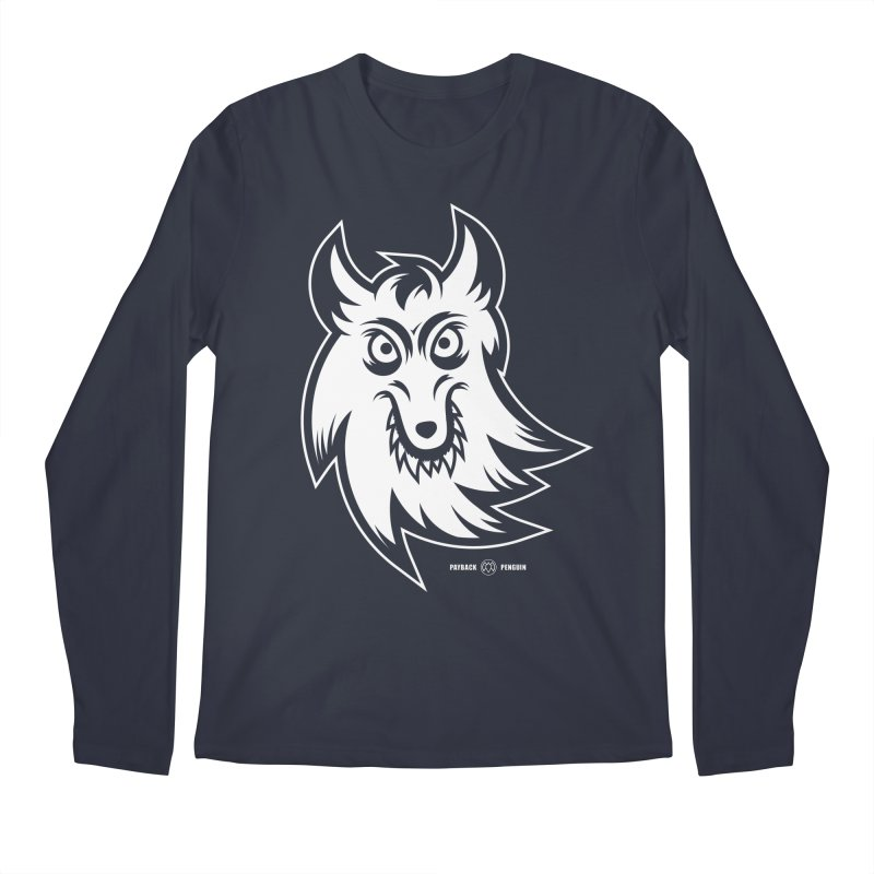 Lone Wolf Men's Longsleeve T-Shirt by Payback Penguin