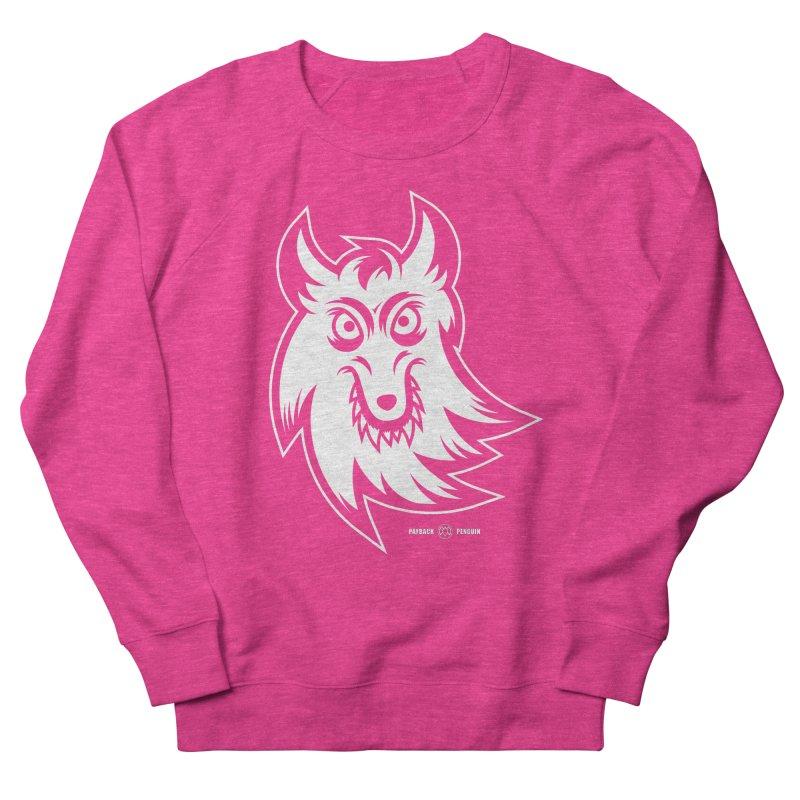 Lone Wolf Men's Sweatshirt by Payback Penguin