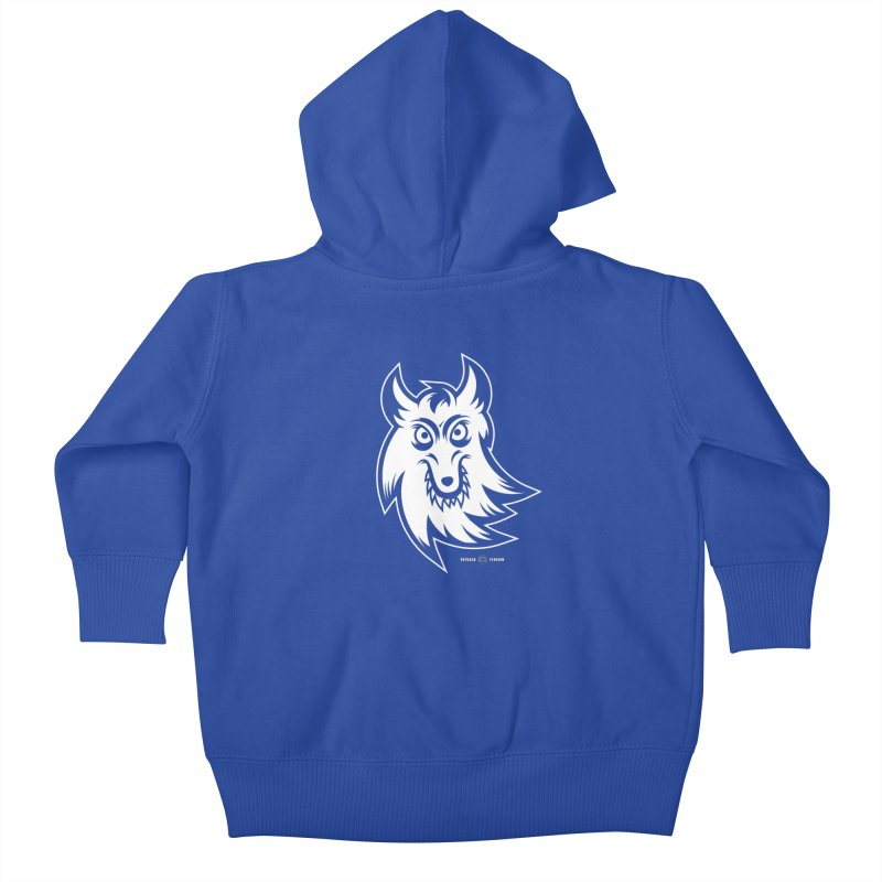 Lone Wolf Kids Baby Zip-Up Hoody by Payback Penguin