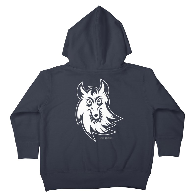 Lone Wolf Kids Toddler Zip-Up Hoody by Payback Penguin