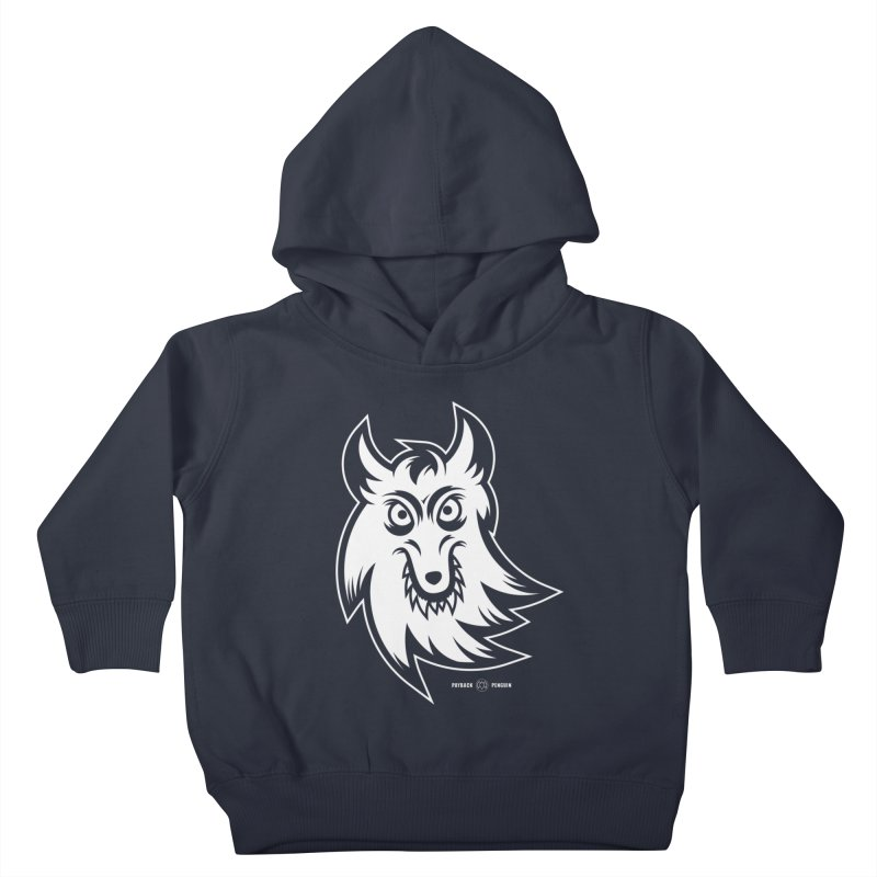 Lone Wolf Kids Toddler Pullover Hoody by Payback Penguin