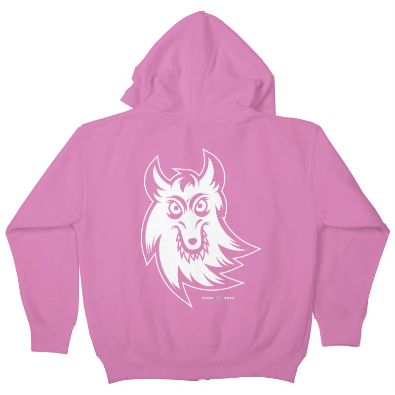 Lone Wolf Kids Zip-Up Hoody by Payback Penguin