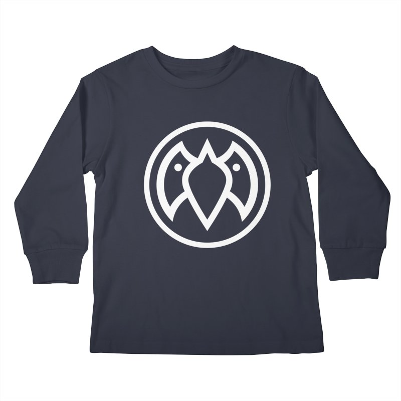 Payback Penguin Icon Shirt Kids Longsleeve T-Shirt by Payback Penguin