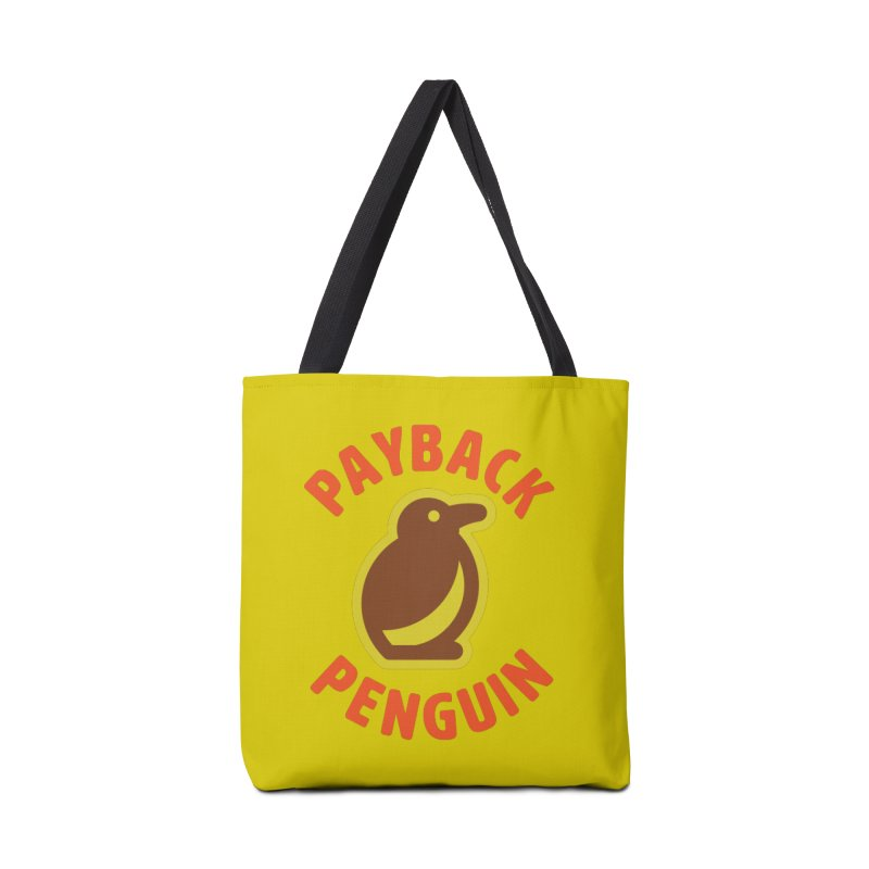 Payback Penguin Camp Tee Shirt Accessories Tote Bag Bag by Payback Penguin