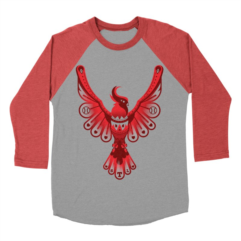 Go Crazy Folks Men's Baseball Triblend Longsleeve T-Shirt by Payback Penguin
