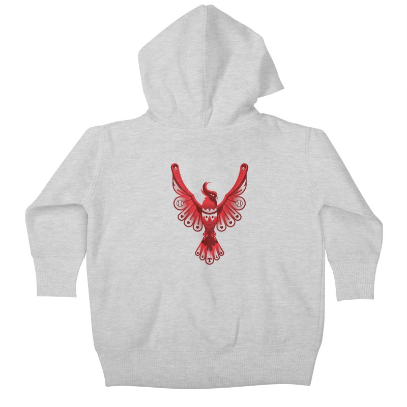 Go Crazy Folks Kids Baby Zip-Up Hoody by Payback Penguin