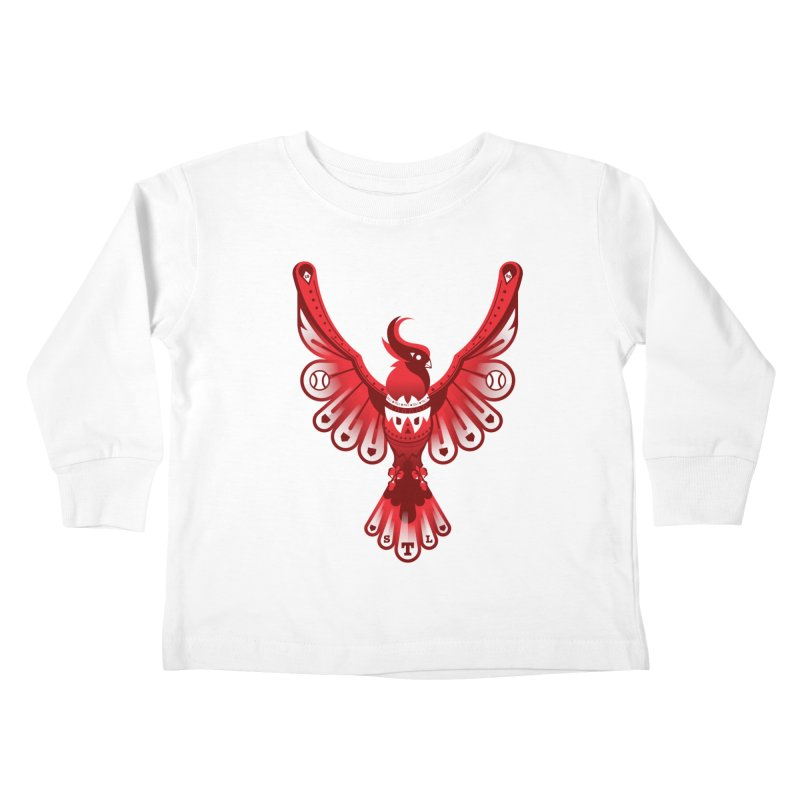 Go Crazy Folks Kids Toddler Longsleeve T-Shirt by Payback Penguin