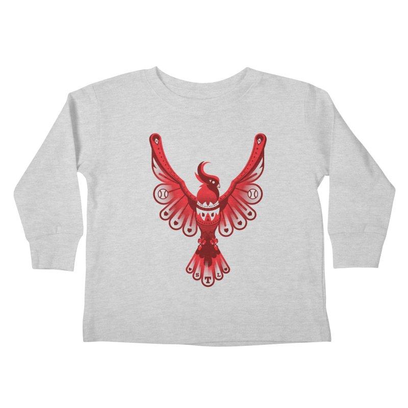Go Crazy Folks Kids Toddler Longsleeve T-Shirt by Payback Penguin