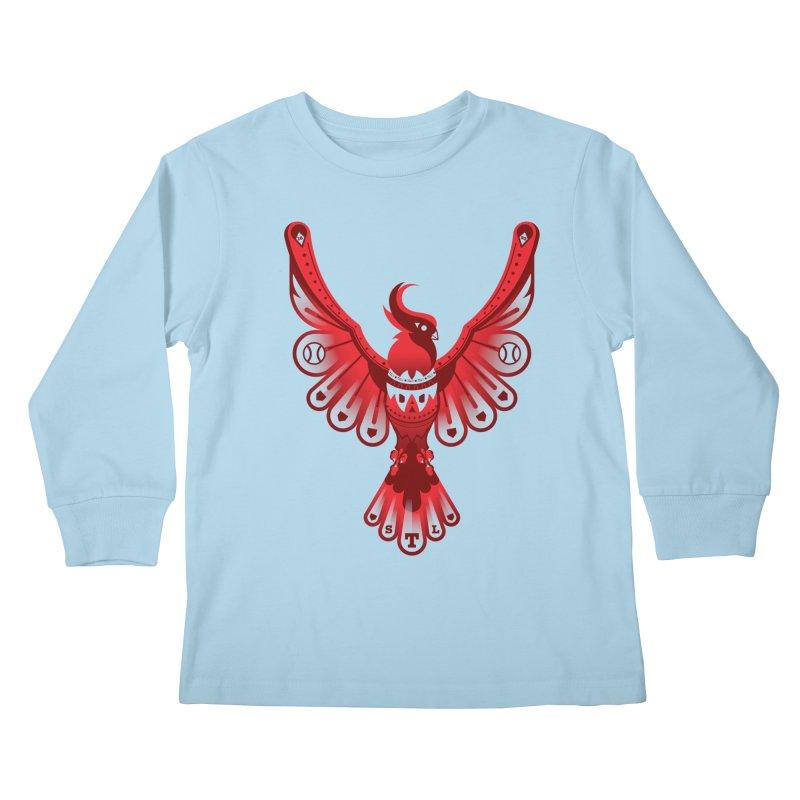 Go Crazy Folks Kids Longsleeve T-Shirt by Payback Penguin