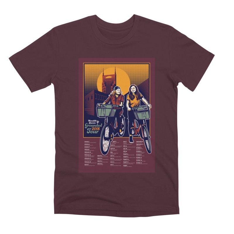 Meredith and Lauren Option 2 Men's Premium T-Shirt by Payback Penguin
