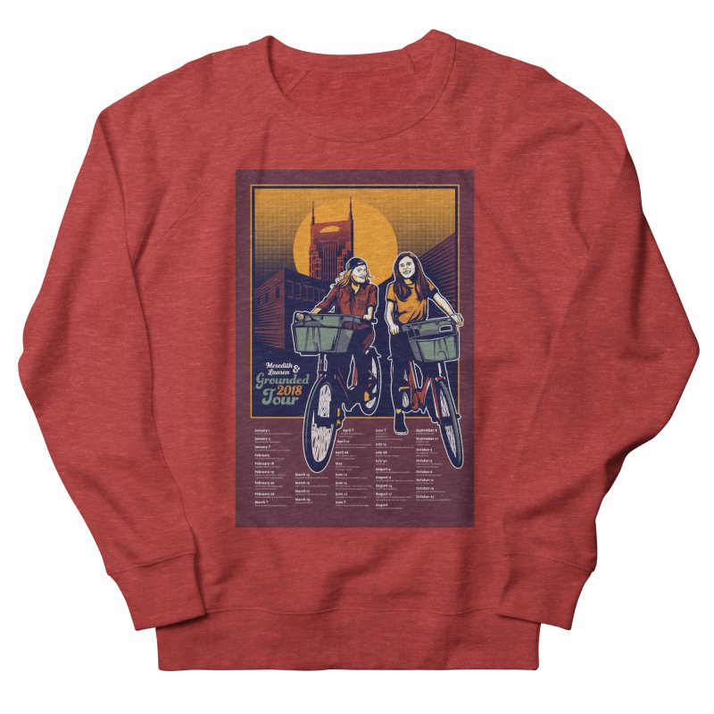 Meredith and Lauren Option 2 Men's French Terry Sweatshirt by Payback Penguin
