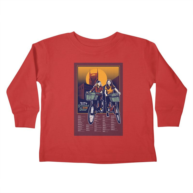 Meredith and Lauren Option 2 Kids Toddler Longsleeve T-Shirt by Payback Penguin