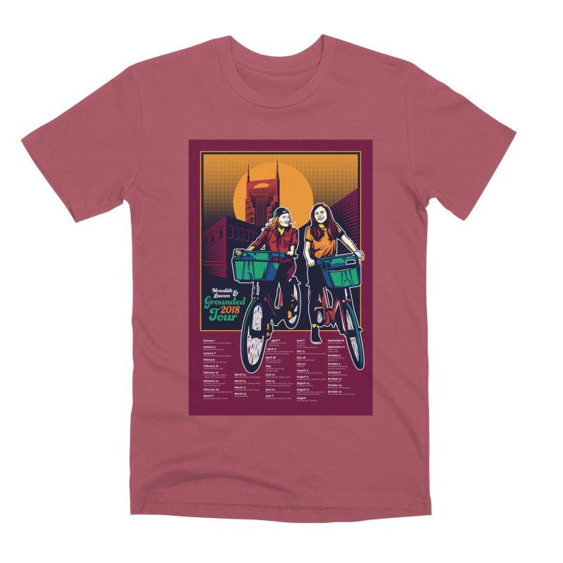 Meredith and Lauren - Option 3 Men's Premium T-Shirt by Payback Penguin
