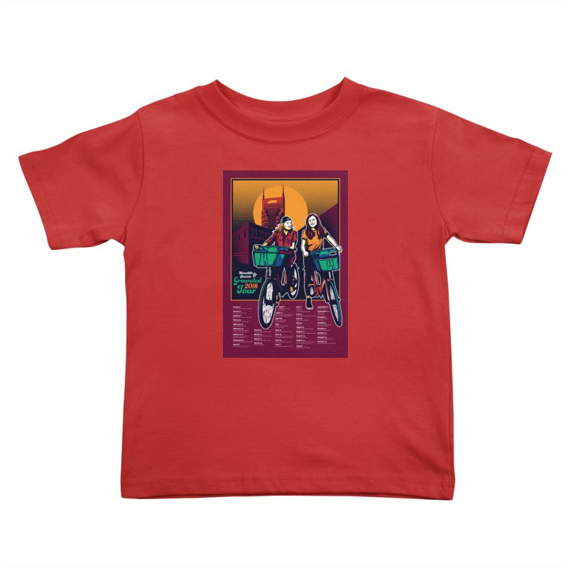 Meredith and Lauren - Option 3 Kids Toddler T-Shirt by Payback Penguin