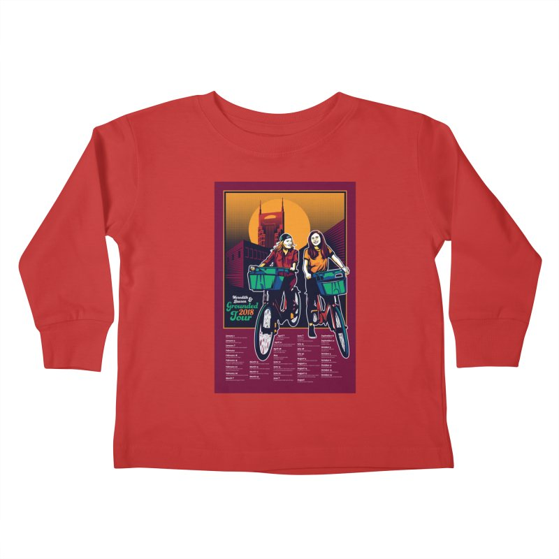 Meredith and Lauren - Option 3 Kids Toddler Longsleeve T-Shirt by Payback Penguin