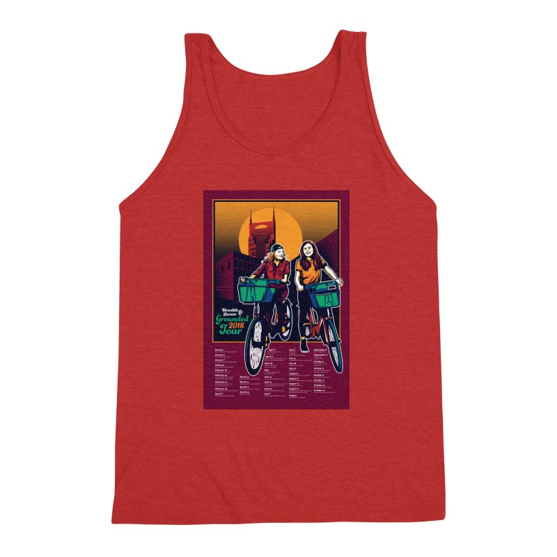 Meredith and Lauren - Option 3 Men's Triblend Tank by Payback Penguin