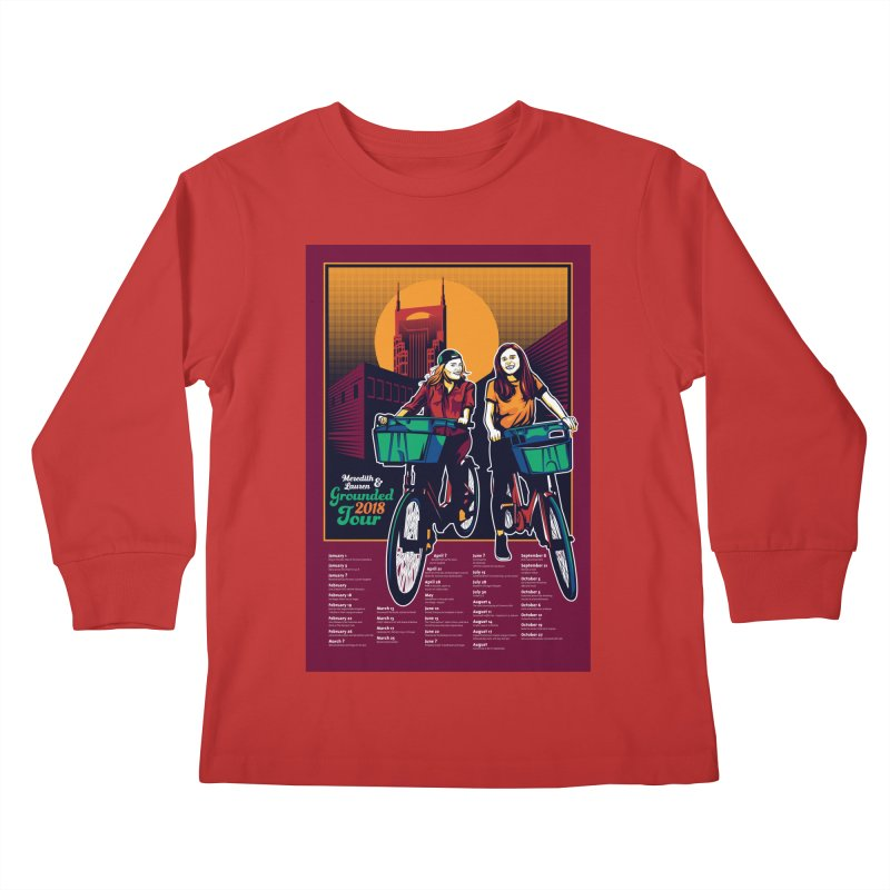 Meredith and Lauren - Option 3 Kids Longsleeve T-Shirt by Payback Penguin