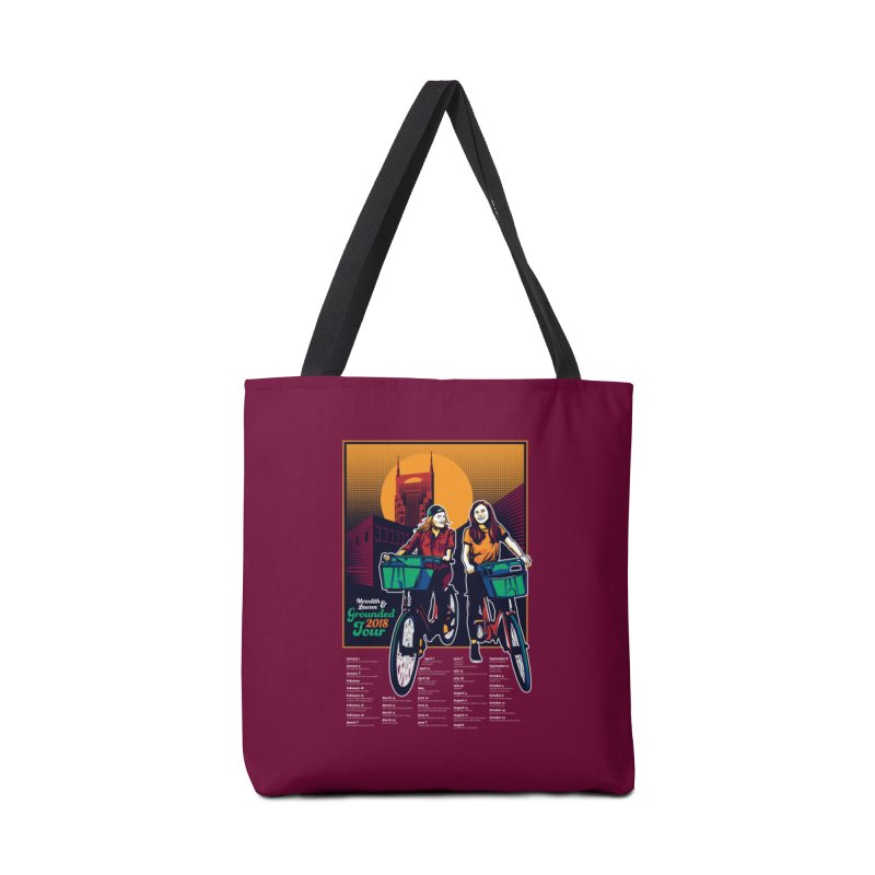 Meredith and Lauren - Option 3 Accessories Tote Bag Bag by Payback Penguin