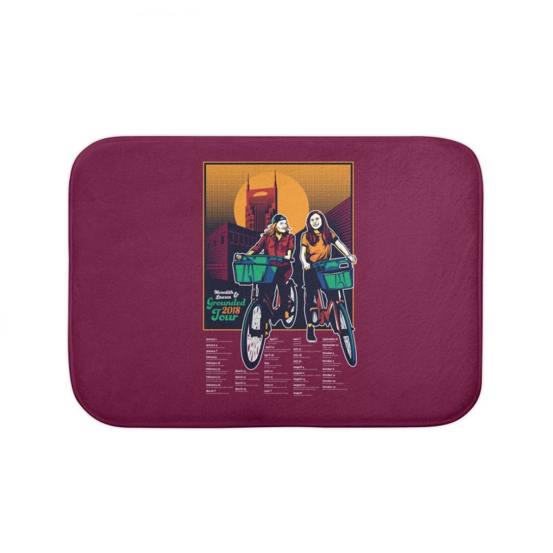 Meredith and Lauren - Option 3 Home Bath Mat by Payback Penguin