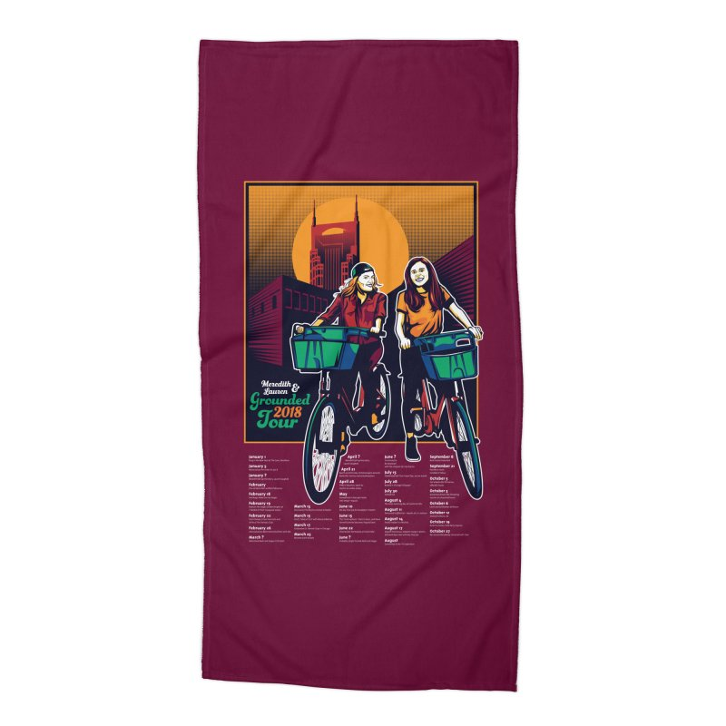 Meredith and Lauren - Option 3 Accessories Beach Towel by Payback Penguin