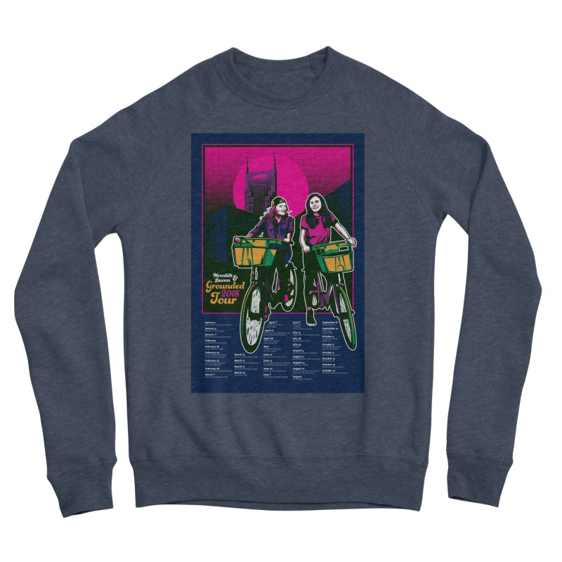 Meredith and Lauren Option 4 Men's Sponge Fleece Sweatshirt by Payback Penguin
