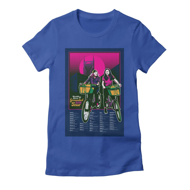 Meredith and Lauren Option 4 Women's Fitted T-Shirt by Payback Penguin