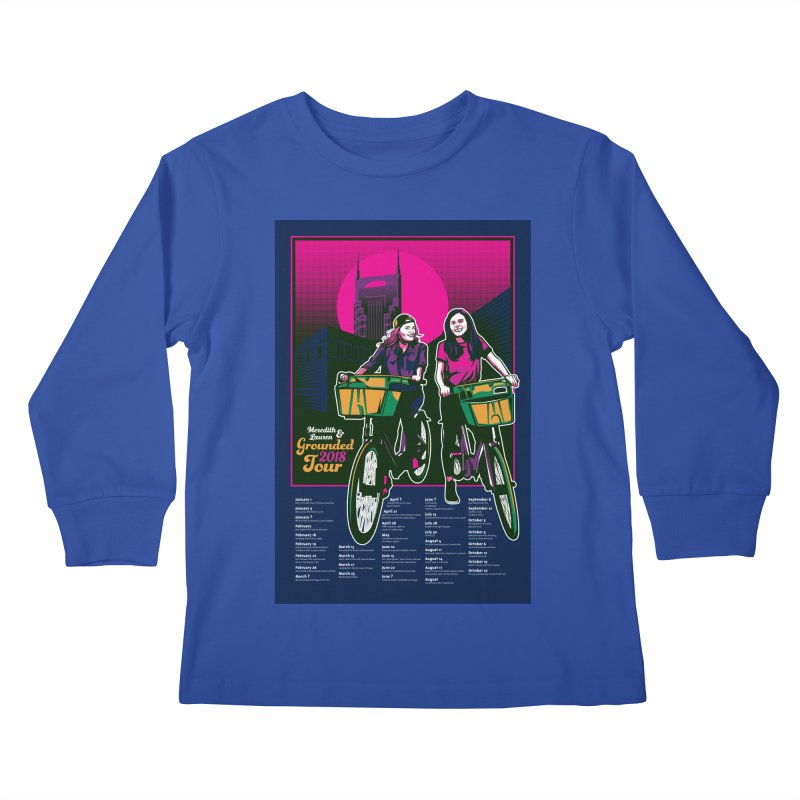 Meredith and Lauren Option 4 Kids Longsleeve T-Shirt by Payback Penguin