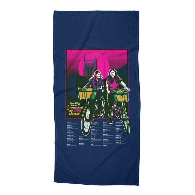 Meredith and Lauren Option 4 Accessories Beach Towel by Payback Penguin