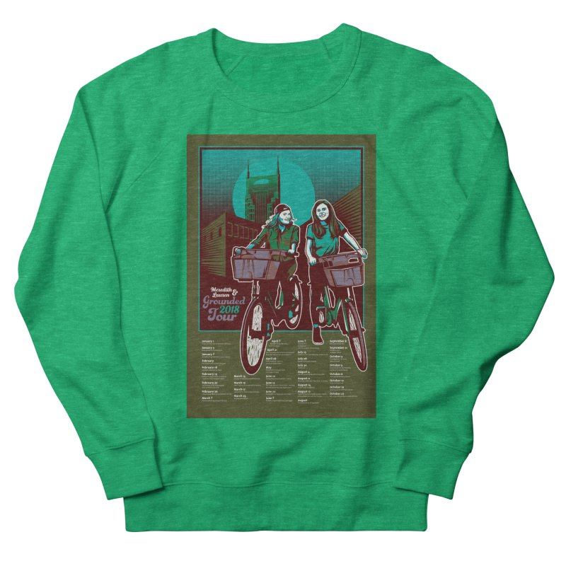Meredith and Lauren - Option 5 Men's French Terry Sweatshirt by Payback Penguin