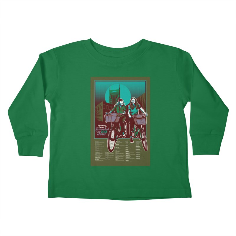 Meredith and Lauren - Option 5 Kids Toddler Longsleeve T-Shirt by Payback Penguin