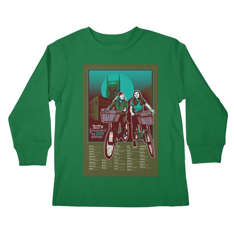 Meredith and Lauren - Option 5 Kids Longsleeve T-Shirt by Payback Penguin