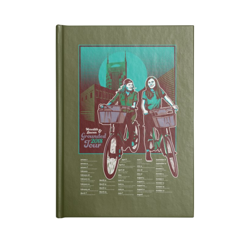 Meredith and Lauren - Option 5 Accessories Blank Journal Notebook by Payback Penguin