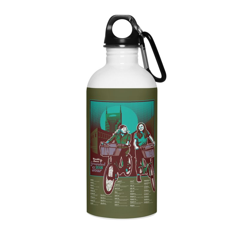 Meredith and Lauren - Option 5 Accessories Water Bottle by Payback Penguin