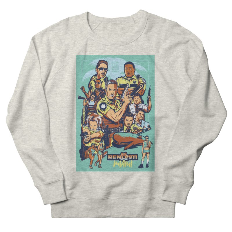 They Have Badges! Women's French Terry Sweatshirt by Payback Penguin