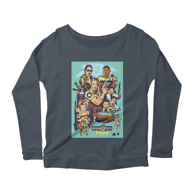 They Have Badges! Women's Scoop Neck Longsleeve T-Shirt by Payback Penguin