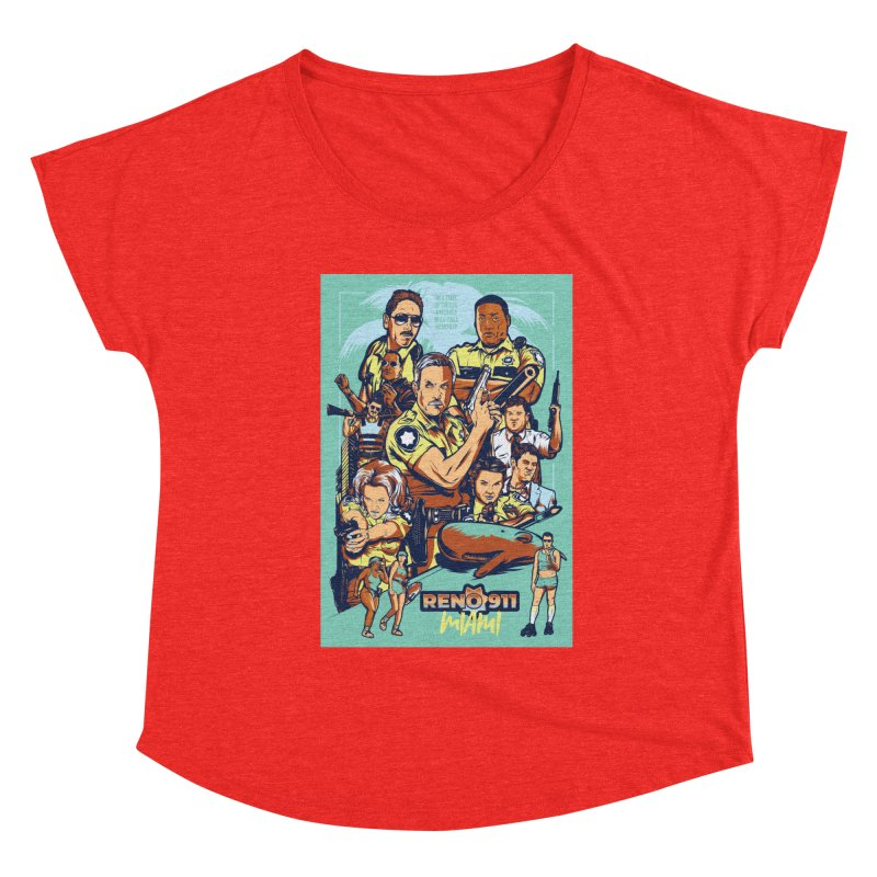 They Have Badges! Women's Scoop Neck by Payback Penguin