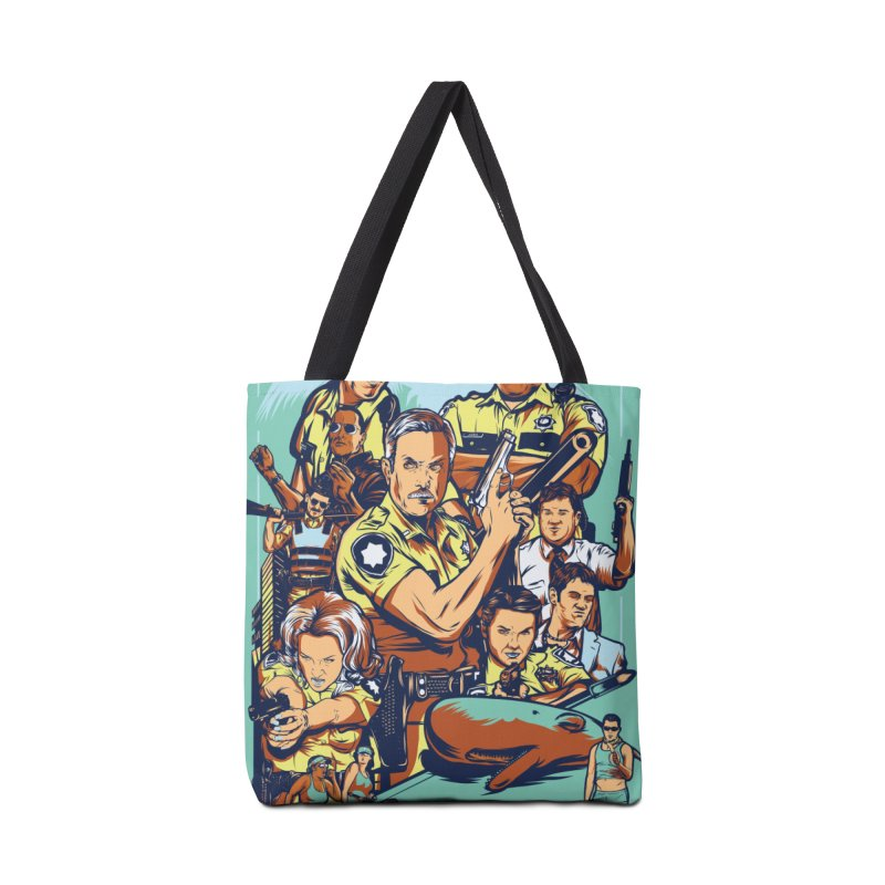 They Have Badges! Accessories Tote Bag Bag by Payback Penguin